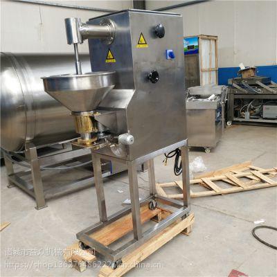 实用小型丸子机的价格 小型实心猪肉丸子机 益众机械