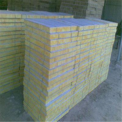 加工80厚岩棉复合板 钢网插丝外墙岩棉板多少钱一吨