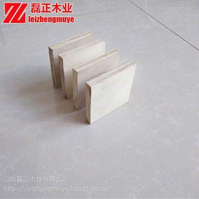 山东厂家杨木包装箱板健身器材用磊正一次成型不开胶易钉钉杨木包装箱板
