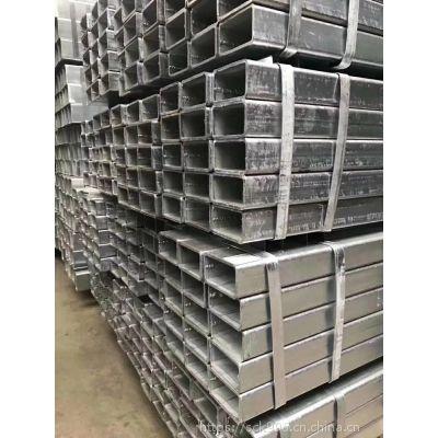 厂家直销 各种规格厚度镀锌方管 Q235B镀锌方管 方通 镀锌矩形管