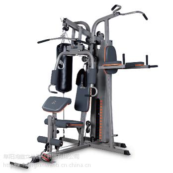 阜阳鸿鑫文体销售健身房综合训练器 家用训练器 单人训练多人训练