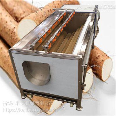 科力厂家小型 土豆去皮清洗机 莲藕去皮机 厂家