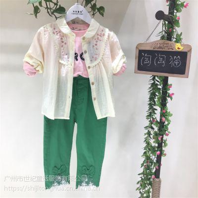 杭州淘淘猫童装卫衣网上童装批发库存货源
