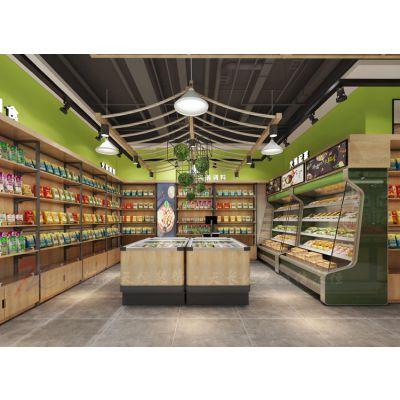 鹤壁生鲜超市装修设计,一个好的装修设计就等于拥有了好的生意