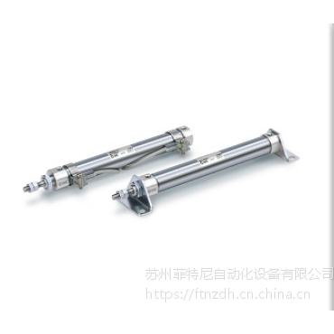 SMC标准型:单杆双作用笔型气缸CDJ2B16-125Z-B当天可发货导轨安装型可选