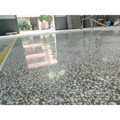 佛山市水磨石镜面抛光+南海区水磨石起灰处理、固化剂地坪