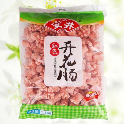 安井开花肠1.5kg超值量贩装 香肠鸡肉肠麻辣烫关东煮火锅串串香食材
