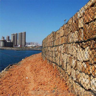 供应加筋石笼网+加筋石笼网挡墙+加筋格宾石笼网护垫+环标