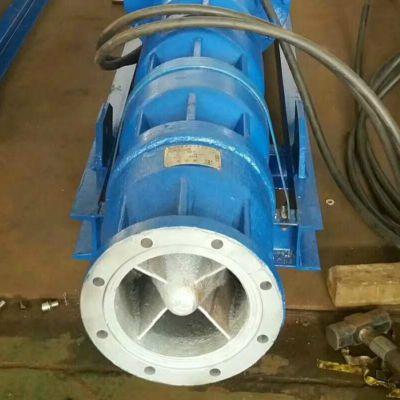 660v电压矿用400QKS卧式潜水泵_400方500方排水量卧式安装潜水泵