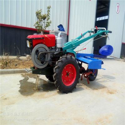 曲工机械厂 直销手扶拖拉机 四驱旋耕机 两轮开沟机 质保两年