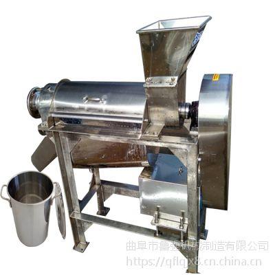 芒果打浆机 0.5吨大产量 挤压芹菜榨汁机 鲁强机械