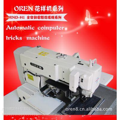 奥玲RN-2010松紧带 背胶 全自动魔术贴车缝电脑车花样机