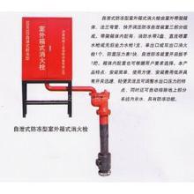 防冻消火栓箱 SGW32D自泄式防冻型室外箱式消火栓价格