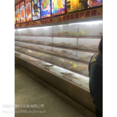 郑州厨具市场定做喷雾加湿功能风幕柜店