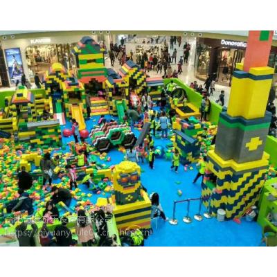 儿童游乐设备厂家,乐高主题王国,积木乐园哪里好,EPP环保大型积木价格