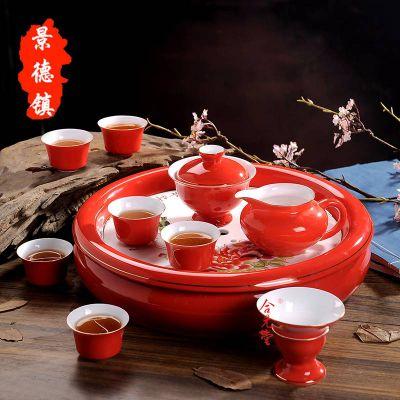 供应陶瓷盖碗,陶瓷品名杯,节日礼品陶瓷茶具批发