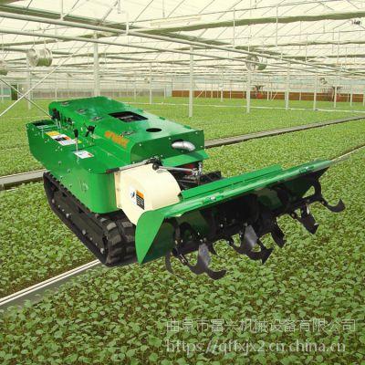 履带式果园施肥开沟机 爬坡式培土施肥机富兴 陕西渭南拖拉机开沟机富兴