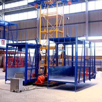 建筑工地卷扬机提升货梯 电动提升物料升降机