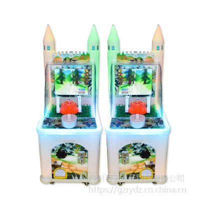 新款单人射水机夺堡奇兵儿童投币游戏机水枪机大水柱打水游艺机