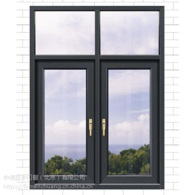 高端断桥铝门窗厂家门窗品牌 蓝卡门窗高端断桥铝门窗