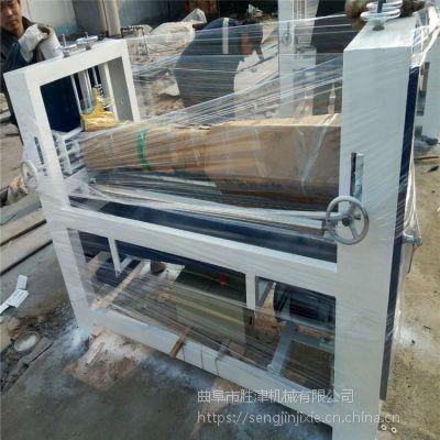 壁纸无纺布牛皮纸单双面涂胶机 木工板条平面板滚胶机
