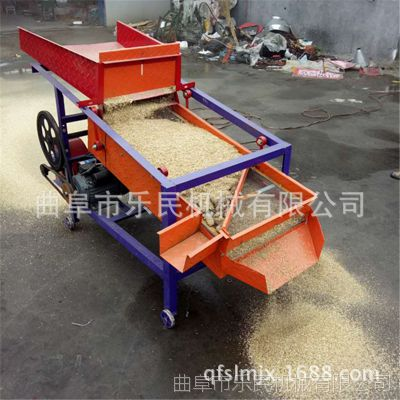 供应中型双层振动筛选机 吸风式黄豆大产量筛选机 稻谷筛选机
