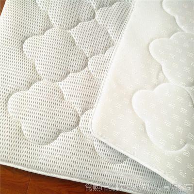 凉感三明治网布 贴牌 防滑材料空气层 3D网布 床垫 工厂直销