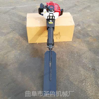 宿州小型便携式挖树机 加长铲起树机 圣鲁机械