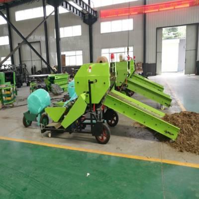 四川生产打捆包膜机厂家哪里有 玉米秸秆青储打包机都有什么功能