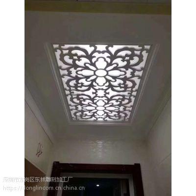 深圳市宾馆、家庭、商场专用镂空板-通花板-实木花格板装饰天花板透光效果很好