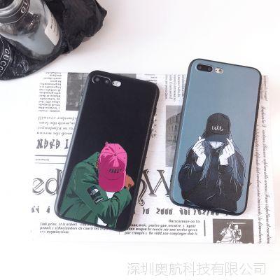 iphone6手机壳 6s 7 8 7 8puls iphoneX时尚电镀按键手机保护套