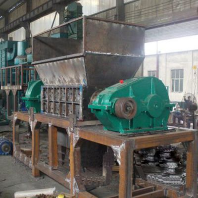 钢屑铁屑轻薄料撕碎机塑料PVC管撕碎机 现货供应