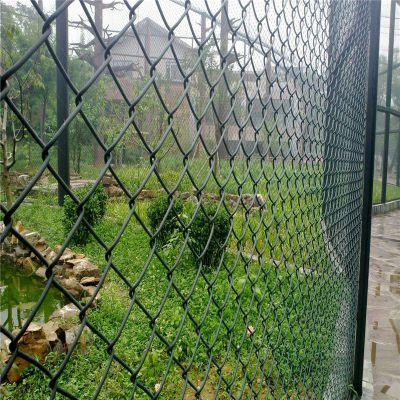 体育场围网 包塑勾花网 球场围网安装