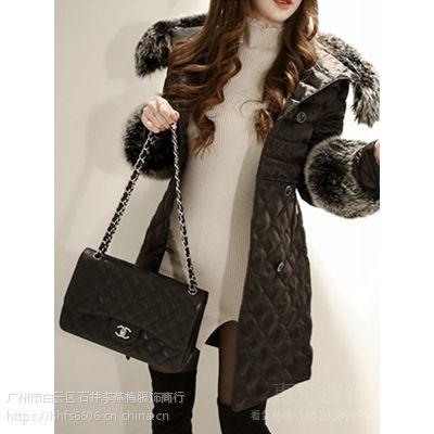 衣之庄园北京尾货批发市场朝阳区 品牌折扣女装好做吗尾货卡其色雪纺衫