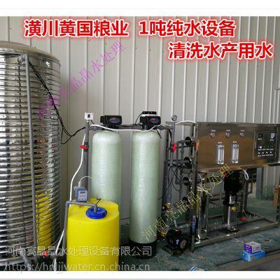 电化学水处理设备 1t/h净水设备 1吨反渗透设备 反渗透水处理设备