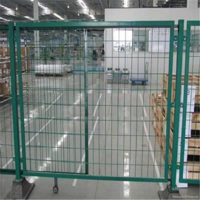 上饶宜春万载仓储货物护栏隔离栅车间隔离网分隔围栏仓库可移动围挡