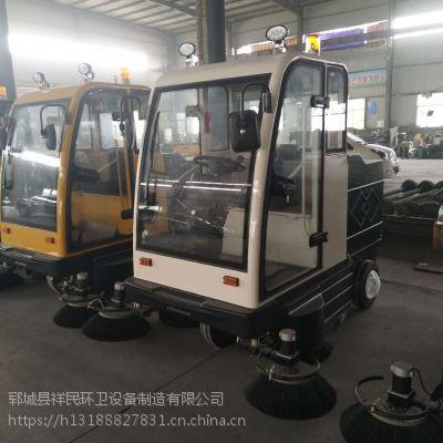 山东电动扫地车生产厂家 公园小型驾驶式电动扫地车排量2.5l