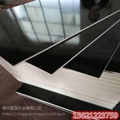 厂家批发建筑模板杨木整芯周转次数高不开胶高层建筑模板