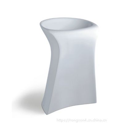 出口创意陶瓷无孔卫浴卫生间洗手盆大柱盆