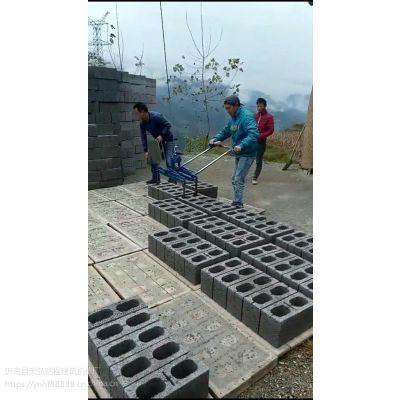 水泥砖收砖机 水泥砖码砖机视频