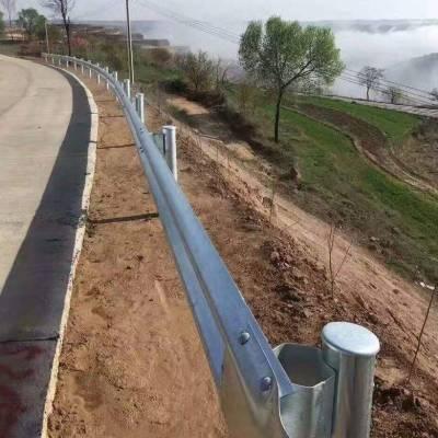 四会山间道路安全防护波形梁护栏 佛山高速防撞路侧护栏双波护栏