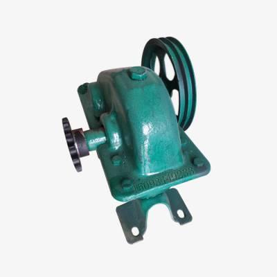小型滚筒式混凝土砂浆搅拌机减速机摩擦箱 小圆罐皮带轮变速箱