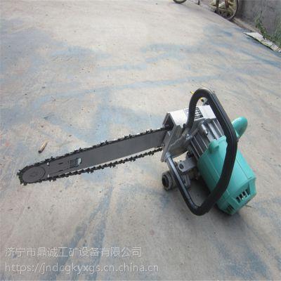 回首看鼎诚石头锯墙机矿用金刚石链锯好操作厂家直销钢筋便携式切割机ZGS-450