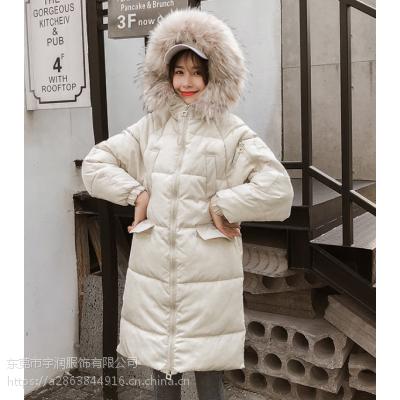 工厂清货杂款棉衣大长款女装棉服处理中长款连帽棉袄清货20-50元