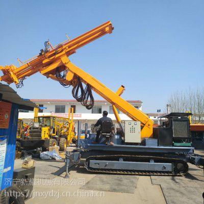 南京履带式护坡钻机施工视频