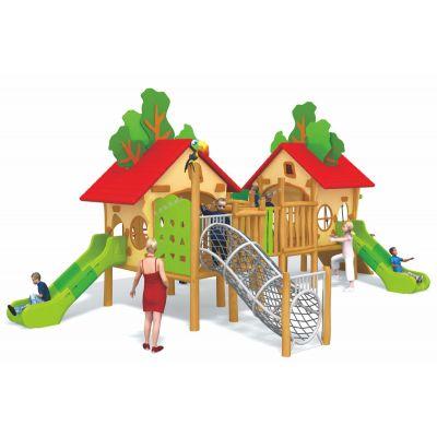 北京儿童室内木质滑梯,黄花梨组合滑梯儿童游乐玩具幼儿园定制可加工定做