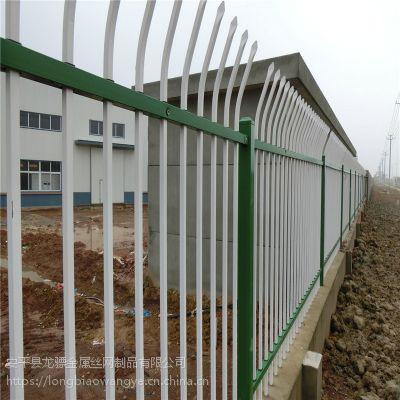 厂房栅栏图纸 工厂围墙栏杆 铁艺栅栏定制