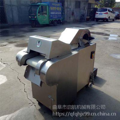 长安县年糕厂年糕切片机 洋葱切丁机价格 启航大蒜切丁机