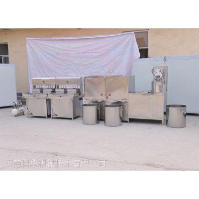 石膏 卤水豆腐加工设备 不锈钢多功能豆腐加工设备 热蒸汽煮浆机器 现场教学 免费技术