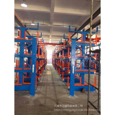 浙江天车用悬臂式货架价格 管材货架厂家 小仓库专用设备